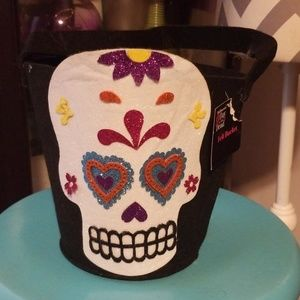 Holiday - Sugar skull basket